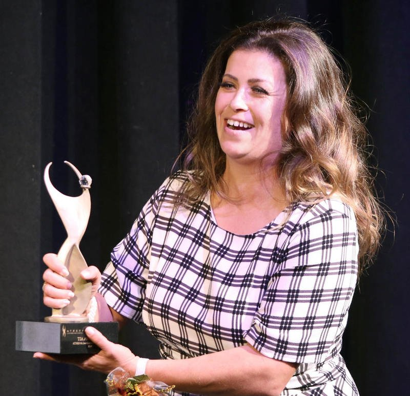 DeKalb Chamber of Commerce names Tia Anderson the 2020 Athena Award Recipient