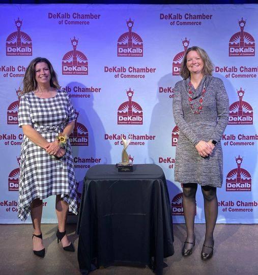 Local Banker Wins DeKalb Athena Award