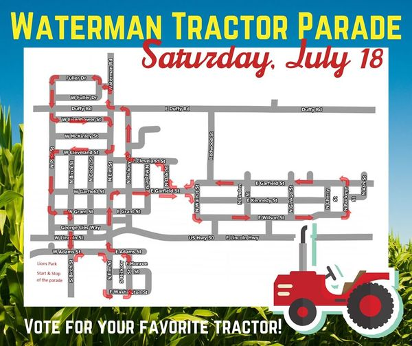 Playcation: DeKalb County Farm Bureau Tractor Parade