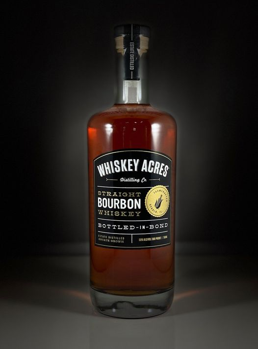 "Whiskey Acres Distilling Company Announces ""Bottled-in-Bond Bourbon"""