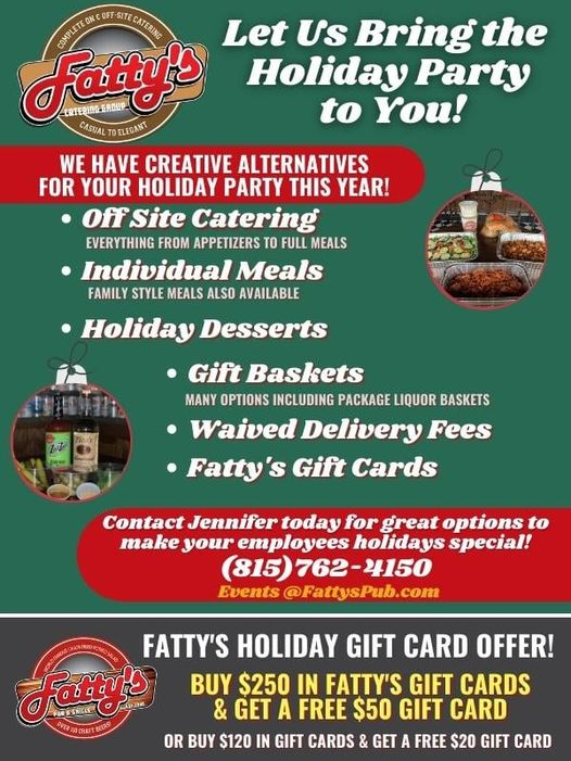 Fatty's Pub Wants to Help with Your Holiday Meal Plans