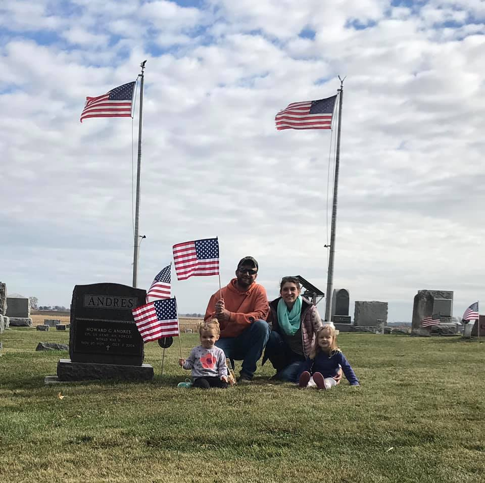 Local Sycamore Family Honors Veterans