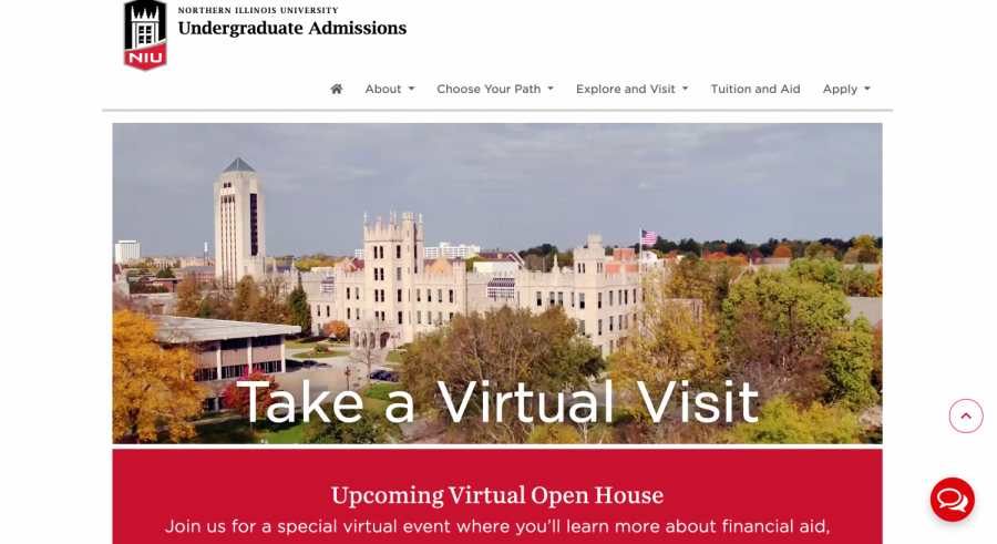 Prospective students visit campus virtually