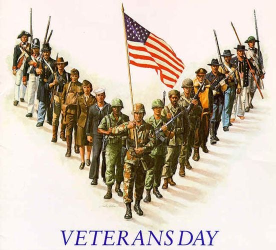 Saluting ALL Veterans on Veteran's Day - 2020