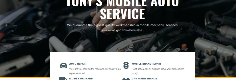 Tony's Mobile Auto Service