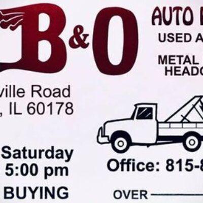 B & O Used Auto Parts