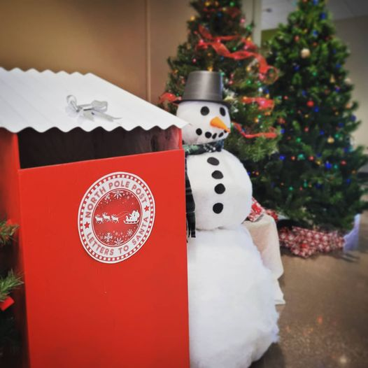 Mail your letter to Santa at the Sycamore Park District Community Center