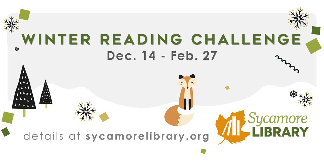 Sycamore Public Library's Winter Reading Challenge