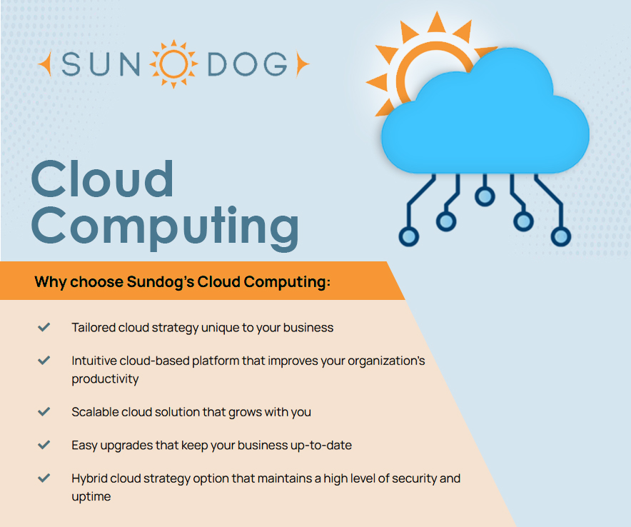 Why choose Sundog for your business's managed IT services?