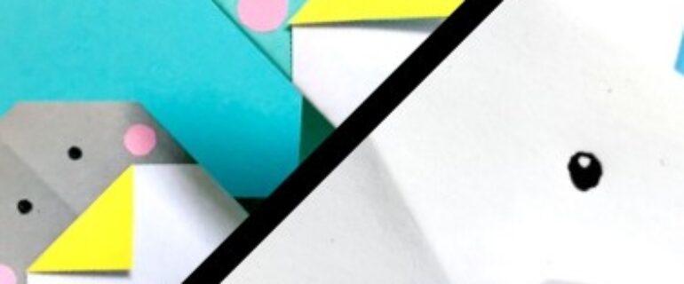 Facebook Live Craft: Origami Polar Bear and Penguin