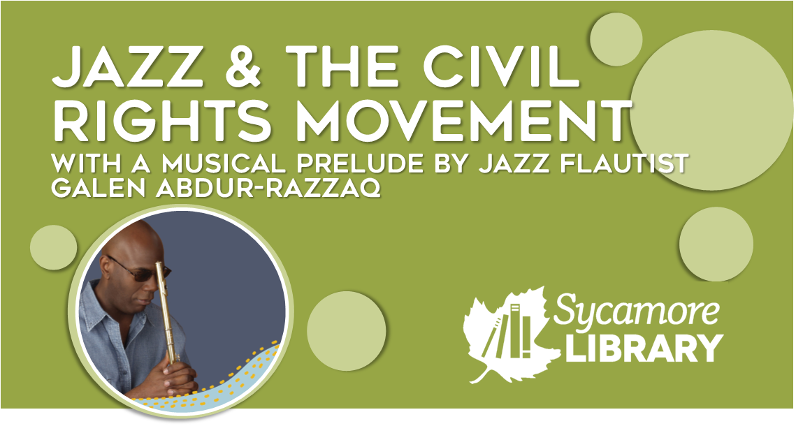 Jazz Flautist Galen Abdur-Razzaq, On Jazz And The Civil Rights Movement