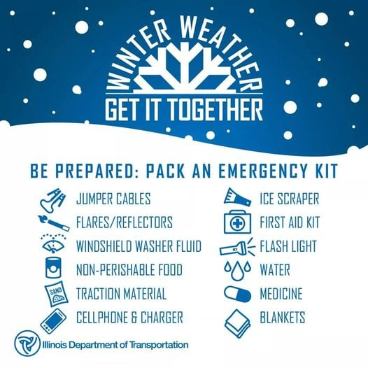 Are You Prepared And Is Your Vehicle Ready For Winter Travel?