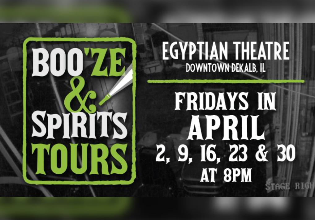 Egyptian Theatre BOO'ze & Spirits Flashlight Tour