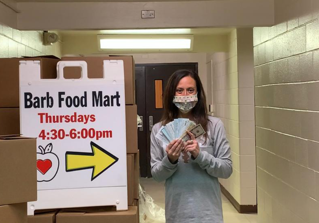 DeKalb Teacher Runs 60 Miles To Raise Money For Barb Food Mart