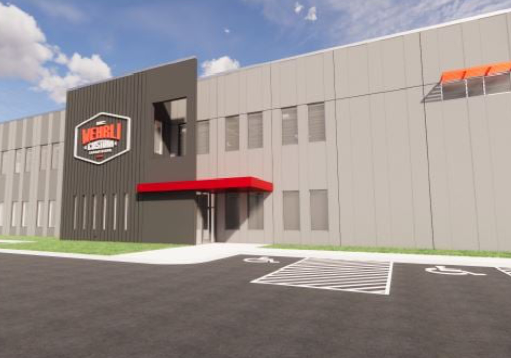 New Building for a Known DeKalb Business-Wehrli Fabrication