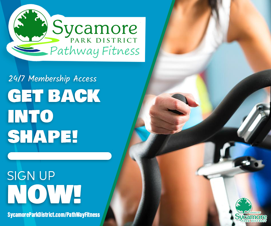 Sycamore Park District Spring Ad