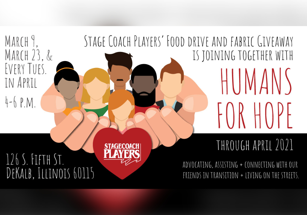 Stage Coach Players Reaches Out To Join Together With Humans For Hope
