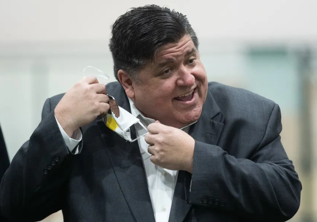 Vax Yes? Mask No! Pritzker To Ease Illinois Rules On Face Coverings For Fully Vaccinated Following CDC Update